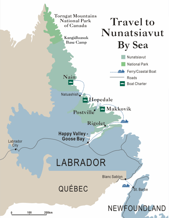 Travel to Nunatsiavut Communities Tourism Nunatsiavut